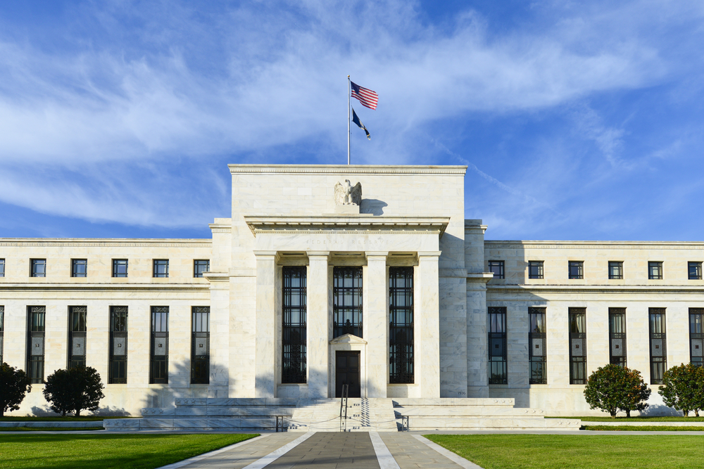 picture of federal reserve build for article about how biden administration influence the federal reserve